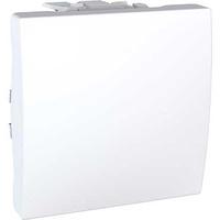 Выключатель SCHNEIDER Unica MGU3.205.18 1кл., (сх.7), 2мод., переключатель перекрестный, белый