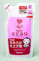 Детский кондиционер для стирки Arau.baby натуральный 480 мл Япония Наполнитель