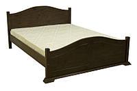 Элегантная двуспальная кровать из натуральной древесины, производства фабрики Скиф. Модель Л-203