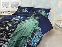 Комплект постельного белья First choice  3D сатин FREE LIFE Двуспальный Евро Культура народов мира