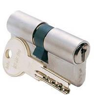 Цилиндр замочный Iseo R6 90мм (45х55) ключ-ключ хром