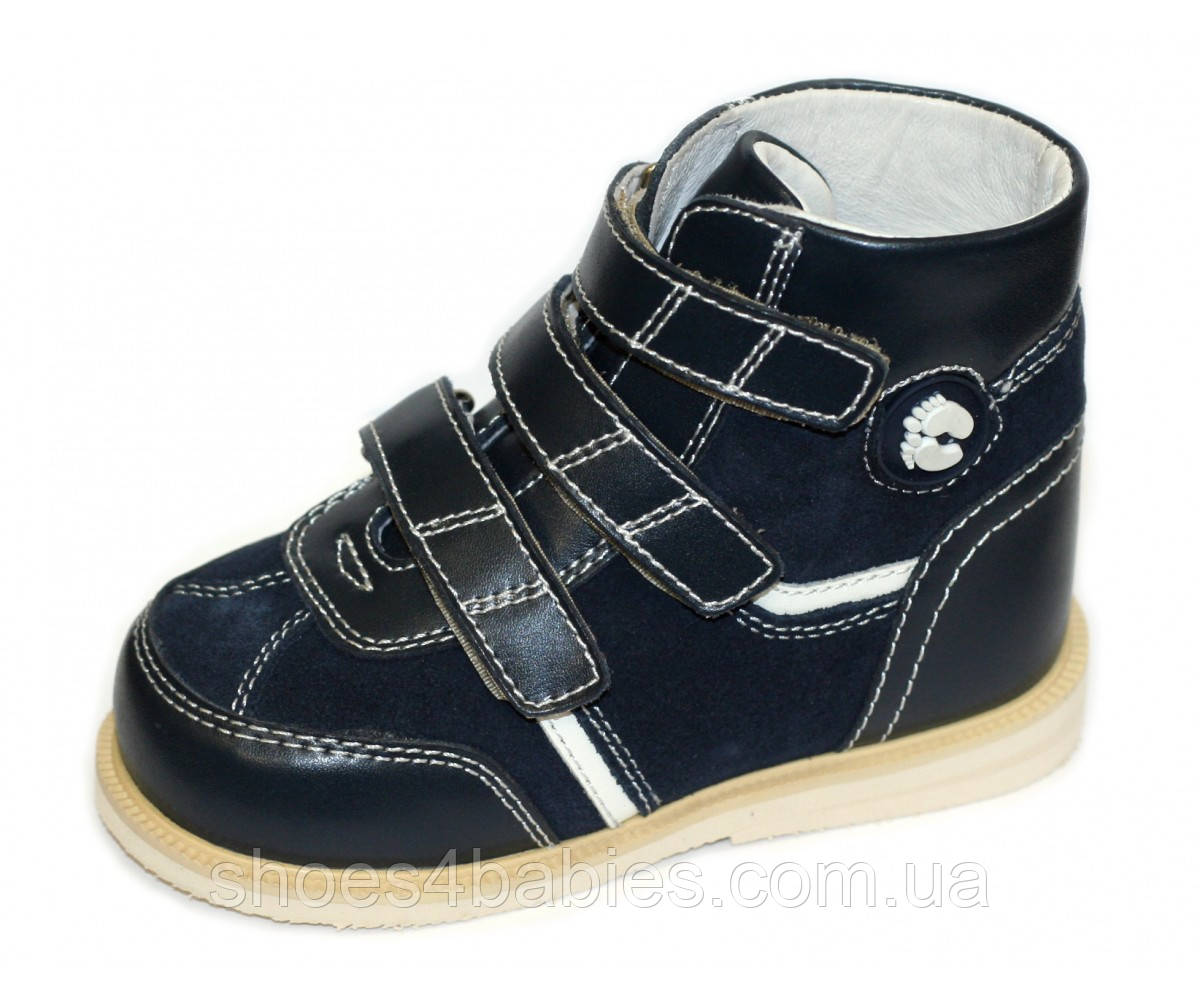 Антиварус ортопедические ботинки Sursil Ortho синие