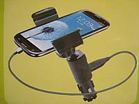 Автомобильная подставка для смартфона с установкой в прикуриватель