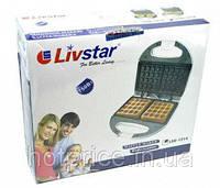 Вафельница для бельгийских вафель LivStar LSU-1214