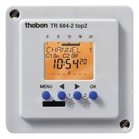 Реле времени электронное 2 канала, TR 684-2 top2, панельный монтаж