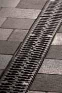 Решетка с прорезями 50см., C250, чугун, для каналов V 100 крепления DRAINLOCK, фото 1