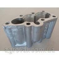 Крышка гидрораспределителя Р-80 нижняя алюминиевая (2 секции) утюг Р80-23.20.