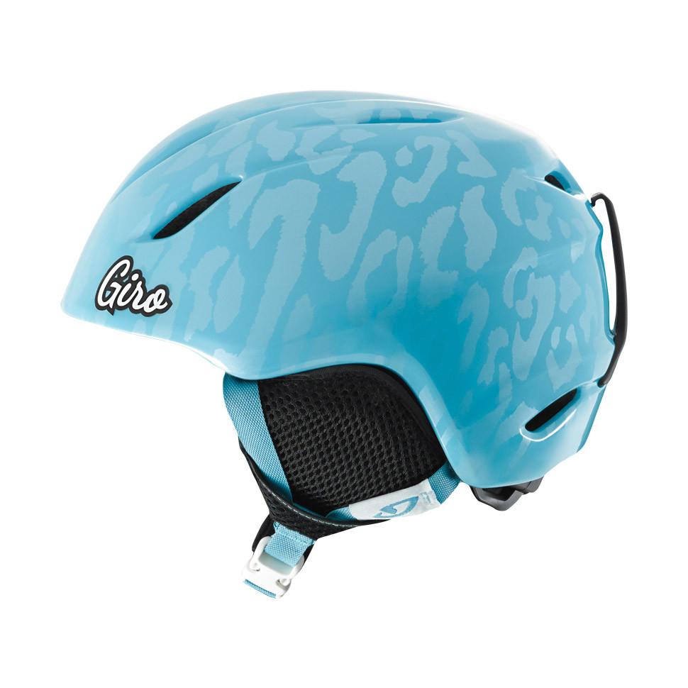 Горнолыжный шлем Giro Launch, Milky голубой Leopard (GT) S (52-55.5)