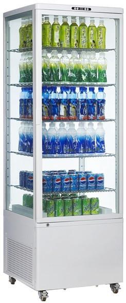 Витрина холодильная EWT INOX RT500L (БН)
