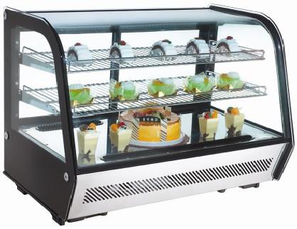 Витрина холодильная EWT INOX RTW-160L (БН)