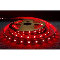 Светодиодная лента MTK (аналог LS613) красная smd 3528 9,6Вт/м. в силиконе