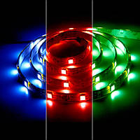 Светодиодная лента MTK (аналог LS607) RGB smd 5050 7,2Вт/м. в силиконе