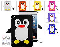"""Силиконовый чехол """"Пингвин"""" для Apple iPad Mini 2"""