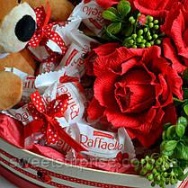Подарочный набор с мягкой игрушкой на День влюбленных, фото 2