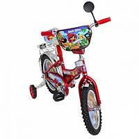 Детский двухколесный велосипед 12 д  Mustang Angry Birds