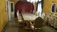 Столовая Silik Fidia. Итальянская столовая. Cтоловый гарнитур барокко SILIK