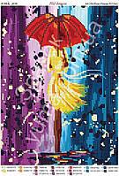 """""""Под дождём"""".  Схема для вышивки бисером"""