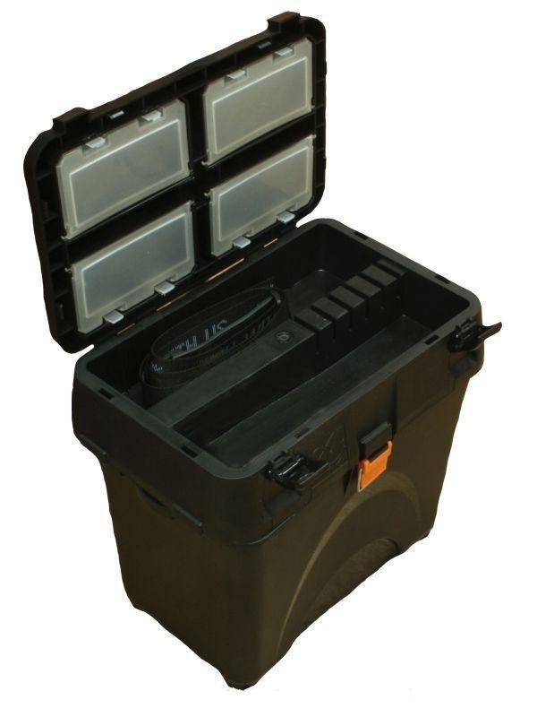 Ящик для зимней рыбалки A-elita Baza черный