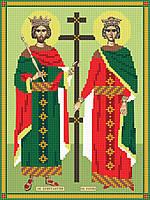 Схема для вышивки бисером Константин и Елена, А4