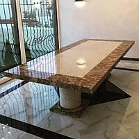 Большой мраморный стол
