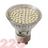 Світлодіодна лампа 3528 MRG 4.0W 220В 18 SMD GU10 4100К 220тм