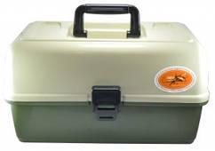 Ящик органайзер 3 полки (оливковый)