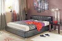 Кровать Релакс 1800*2000 кожзам черный