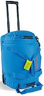 Удобная сумка на колесиках Barrel Roller M 60 л Tatonka TAT 1961.194, цвет Bright Blue (ярко-голубой)