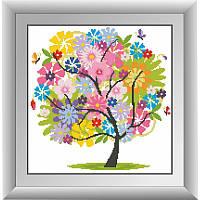 """Набор для рисования камнями """"Летнее дерево"""""""