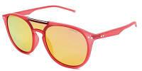 Солнцезащитные очки Polaroid Очки женские с поляризационными ультралегкими зеркальными линзами POLAROID (ПОЛАРОИД) P6023S-15J99OZ