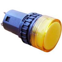 Сигнальная арматура АСКО AD16-16DS желтая 220М АС