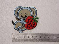 Нашивка детская Мышка, 10 шт.