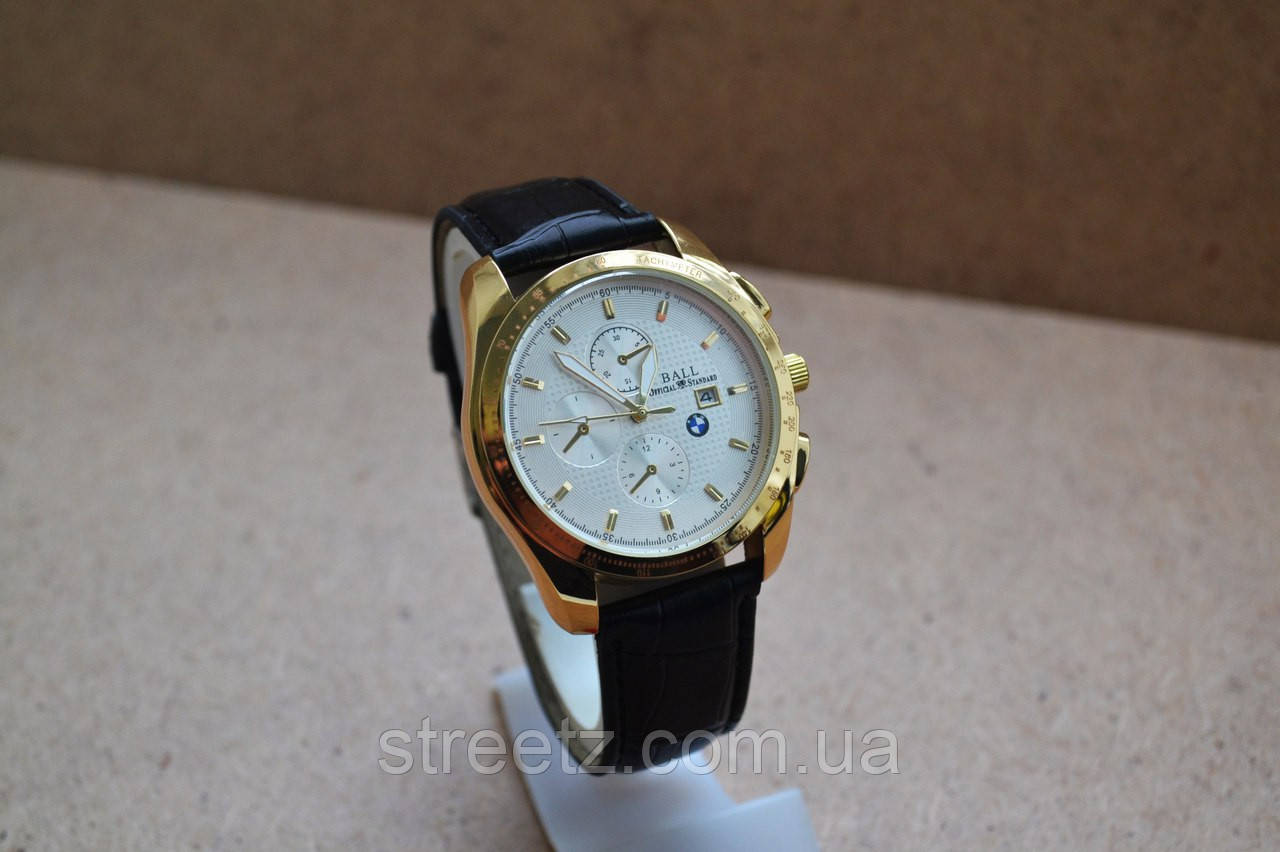 Наручные часы BMW Automatic Golden/White Watches