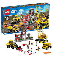 Конструктор LEGO City Площадка для сноса зданий 60076