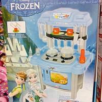 Детская современная кухня в стиле холодного сердца