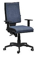 Кресло Спейс механизм FS HB Papermoon-052 голубой/боковины Неаполь-20 чёрный