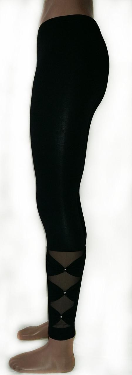 Жіночі лосини №227 чорні