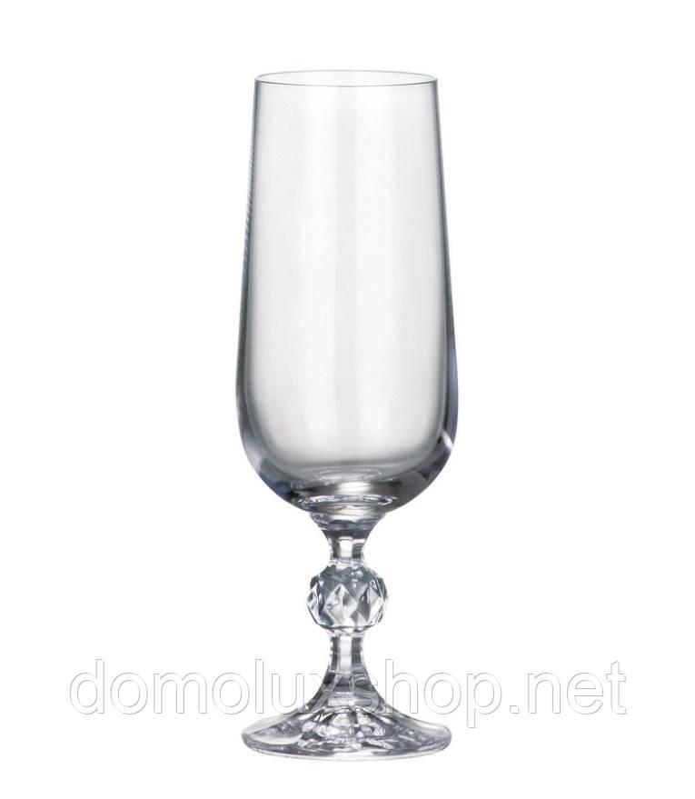 Bohemia Claudia Набор бокалов для шампанского 6*180 мл (40149)