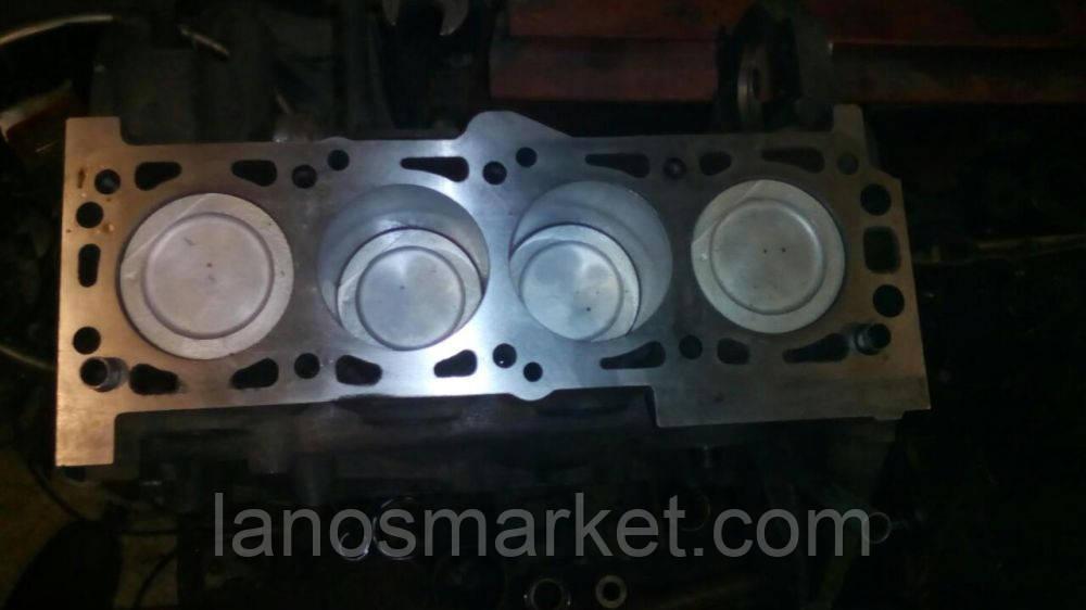 Двигатель Ланос 1,5 (A15SMS) б/у полный кап ремонт.