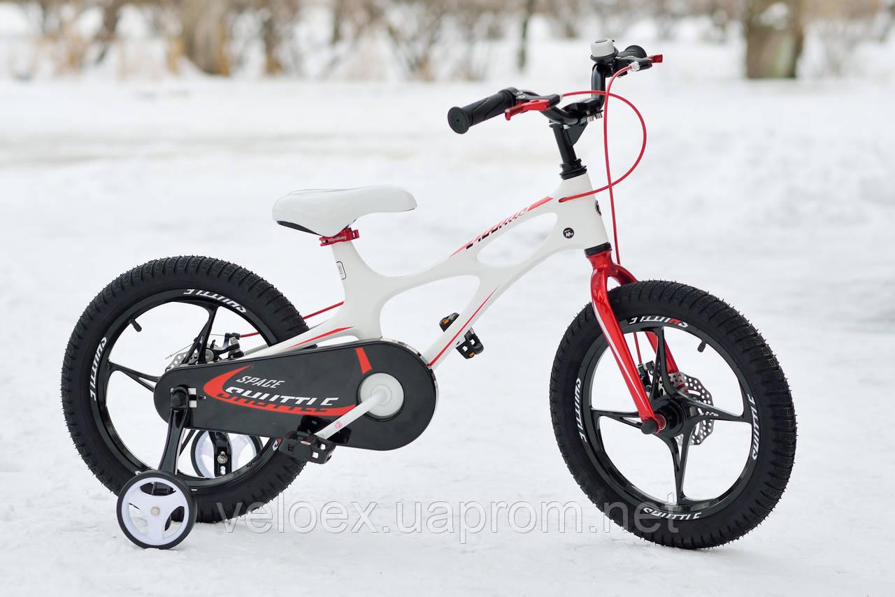 "Велосипед RoyalBaby SPACE SHUTTLE 16"" белый"