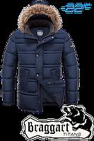 Зимний пуховик мужской большие размеры 58-60 Braggart