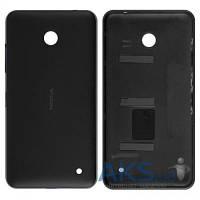 Задняя часть корпуса (крышка аккумулятора) Nokia 630 Lumia Dual Sim Black