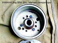 Магнит генератора скутера Yamaha Jog Vino 5bm 5su