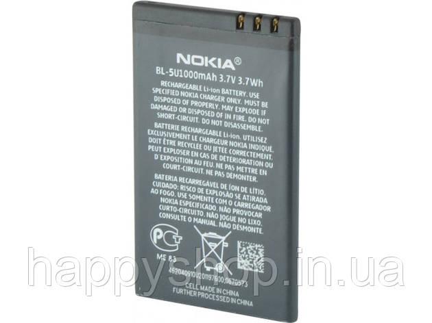 Оригинальная батарея Nokia BL-5U, фото 2