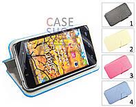 Чехол-бумажник для Alcatel 6010D One Touch Star