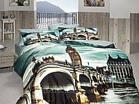 Комплект постельного белья First choice  3D сатин BIG-BEN Двуспальный Евро Культура народов мира