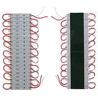 Светодиодная лента-модуль SMD5050 60 светодиодов, 12 В DC, IP65 (красный)