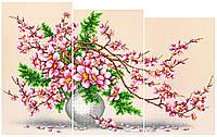 """Схема для вышивки бисером """"Магнолия"""" (модульный триптих), фото 1"""