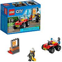 Конструктор Lego City Пожарный квадроцикл 60105 пожара