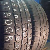 Бу зимние шины на бус R15 C 215/70 Matador